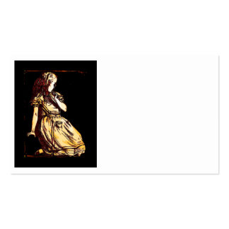 Little Alice Daydreaming Pack Of Standard Business Cards