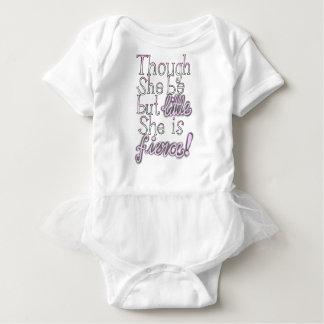 Little and fierce! baby bodysuit