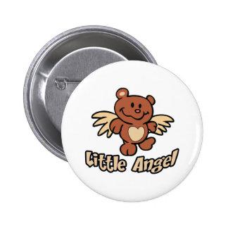 LITTLE ANGEL 2 INCH ROUND BUTTON