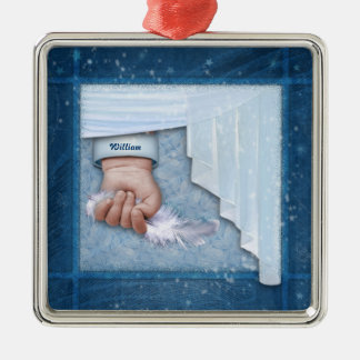Little Angel (customizable) Christmas Ornament