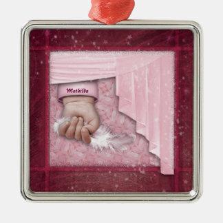 Little Angel (customizable) Christmas Ornament