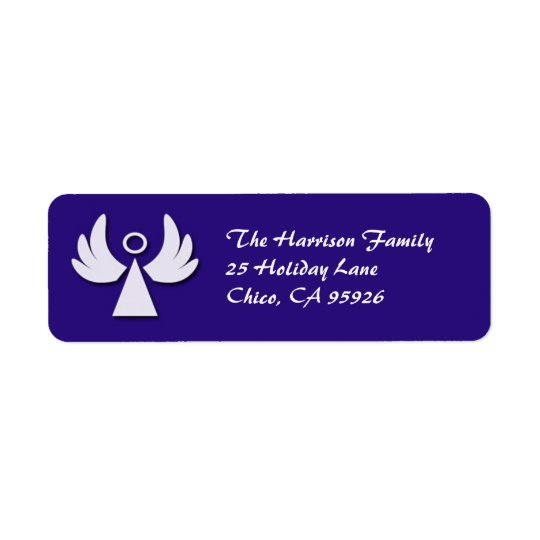Little Angel Holiday Return Address Label