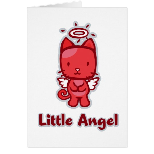 """Little Angel...Little Devil"" Greeting Cards"