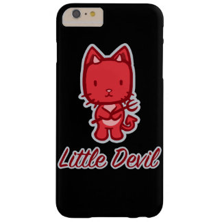 Little Angel...Little Devil Kitty Cat Cartoon Barely There iPhone 6 Plus Case