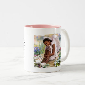 Little Angel with Bunnies Easter Gift Mugs