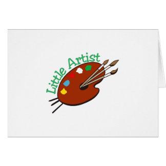 Little Artist Greeting Card