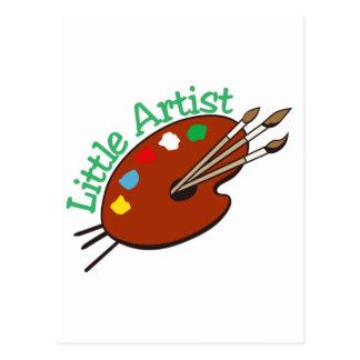 Little Artist Postcard