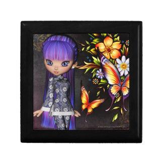 Little Asian Girl 8 Fantasy Artwork Jewelry Box