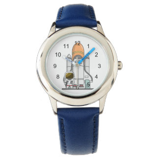 Little Astronaut & Spaceship Wristwatch