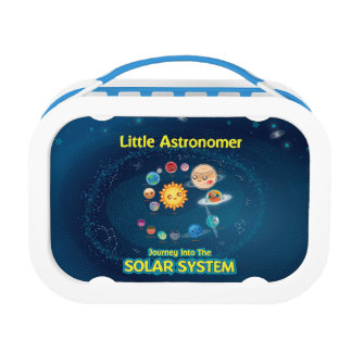 Little Astronomer Blue Lunch Box
