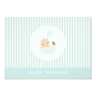 {little baby}  baby shower invitation