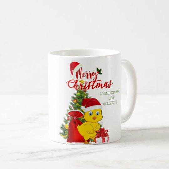 Little Baby Chicken Christmas Coffee Mug