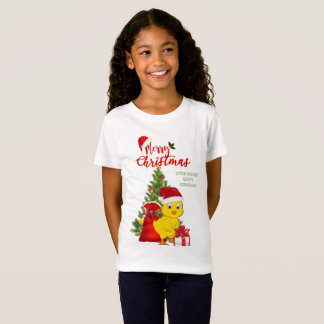 Little Baby Chicken Christmas T-Shirt