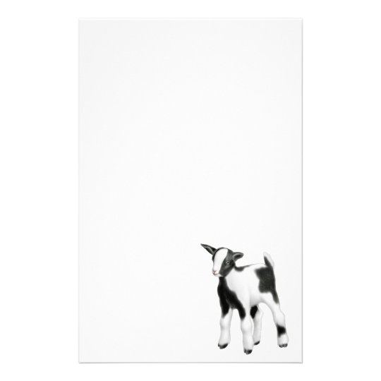 Little Baby Goat Stationery