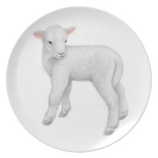 Little Baby Lamb Plate