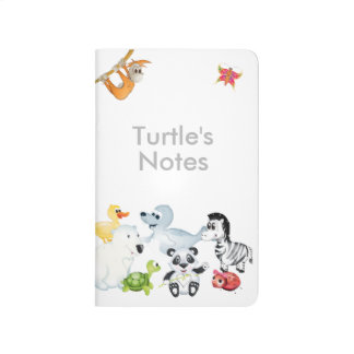 'Little Baby Love Seal' All Character Notebook Journal