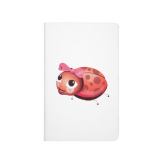 'Little Baby Love Seal' Ladybug Character Notebook Journals