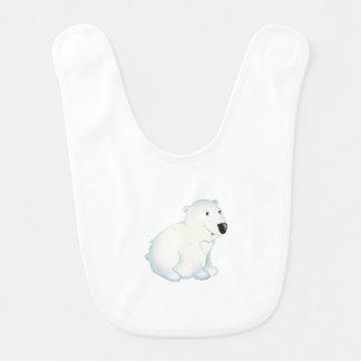 'Little Baby Love Seal' Polar Bear Bib