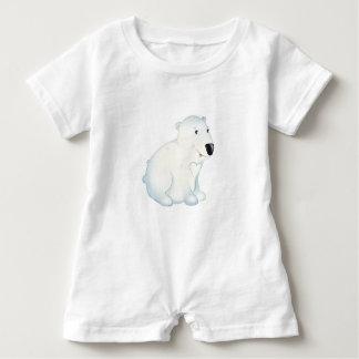 'Little Baby Love Seal' Polar Bear Romper Baby Bodysuit