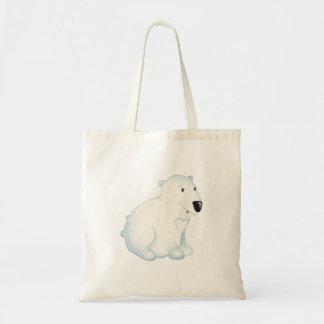 'Little Baby Love Seal' Polar Bear Totebag