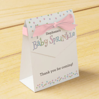 Little Baby Sprinkle Confetti Shower Favor Bag Favour Box