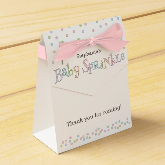 Little Baby Sprinkle Confetti Shower Favour Bag Favour