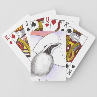 Little Badger playing cards (A430)