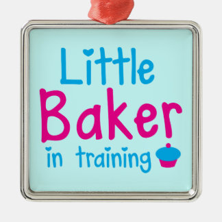 Little BAKER in training Christmas Ornament