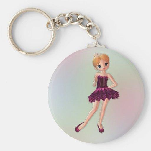 Little Ballerina 2 Keychain