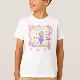 Little Ballerina 3rd Birthday T-Shirt