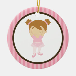 Little Ballerina Christmas Ornament