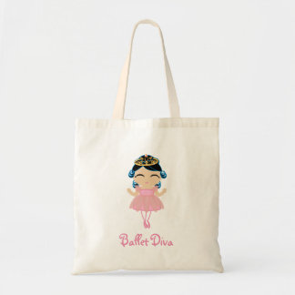 little BALLERINA PRINCESS gift  tote bag