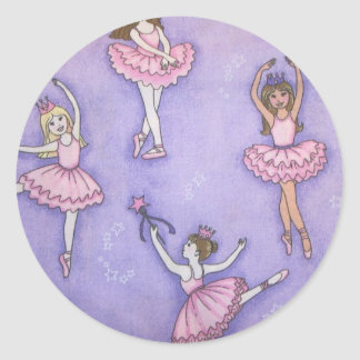 Little Ballerina Sticker