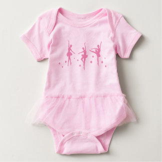 Little Ballerinas Baby Tutu Bodysuit