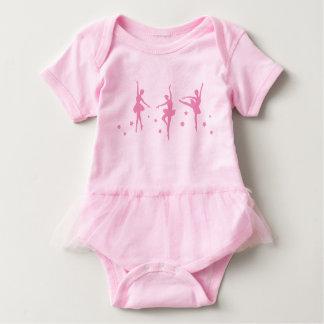 Little Ballerinas Baby Tutu Bodysuit