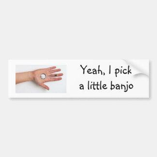 Little Banjo Bumper Sticker