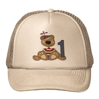 Little Bear 1st Birthday Cap
