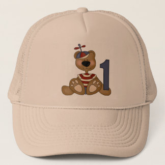 Little Bear 1st Birthday Trucker Hat