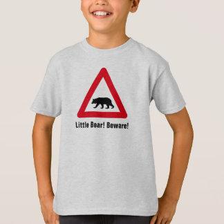 Little Bear! Beware! Road sign T-Shirt