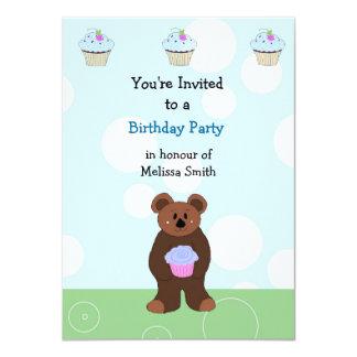 Little Bear Birthday Invitation