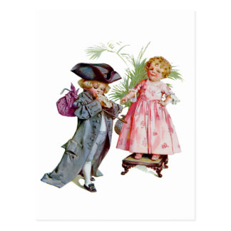 Little Benjamin Franklin Postcard