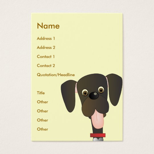 Little Big Dog Business Card