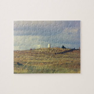 Little Bighorn Battlefield National Monument (phot Jigsaw Puzzle