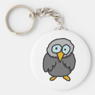 Little bird basic round button key ring