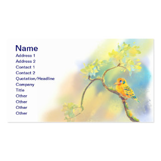 Little Bird Double-Sided Standard Business Cards (Pack Of 100)