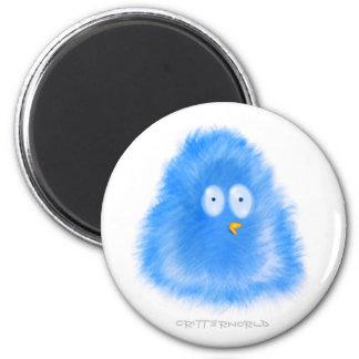 Little Bird Critter 6 Cm Round Magnet