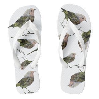 Little bird flip flops