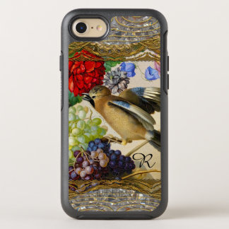 Little Bird From the Past Vintage Monogram OtterBox Symmetry iPhone 7 Case