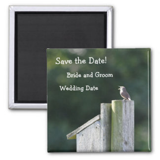 Little Bird Save the Date Magnet