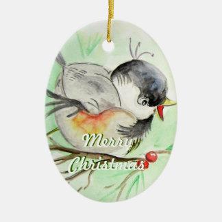 Little Birdie Christmas Ornament